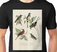 Bilder atlas zur Wissenschaftlich populären Naturgeschichte der Vögel in ihren sämmtlichen Hauptformen Leopold Joseph Fitzinger 1864 076 Unisex T-Shirt
