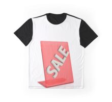 hot sale sign isolated on white background Graphic T-Shirt