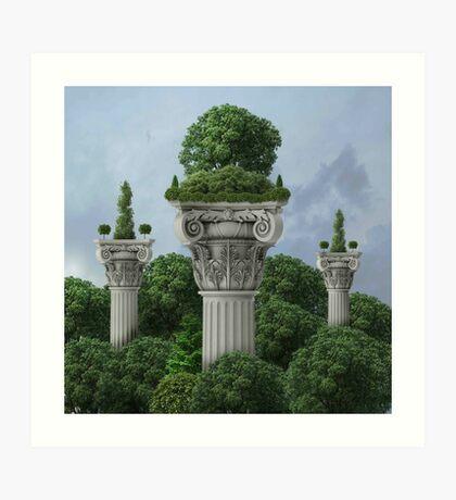 Classical - Sky High Horticulture Art Print