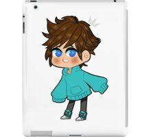 chibi sora left iPad Case/Skin