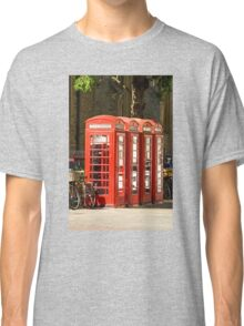 Red Phone Boxes Classic T-Shirt