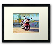 Honda CBR500R Framed Print