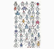 Robots, robots, robots!!! Baby Tee
