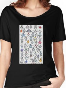 Robots, robots, robots!!! Women's Relaxed Fit T-Shirt