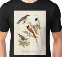 Bilder atlas zur Wissenschaftlich populären Naturgeschichte der Vögel in ihren sämmtlichen Hauptformen Leopold Joseph Fitzinger 1864 048 Unisex T-Shirt