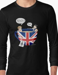Sherlock, a quick summary Long Sleeve T-Shirt