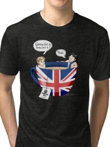 Sherlock, a quick summary Tri-blend T-Shirt