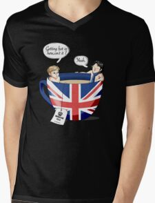 Sherlock, a quick summary Mens V-Neck T-Shirt