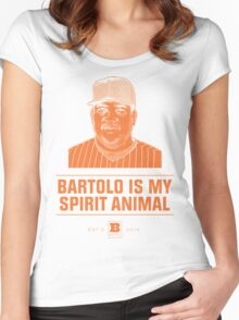 Bartolo Is My Spirit Animal Women's Fitted Scoop T-Shirt