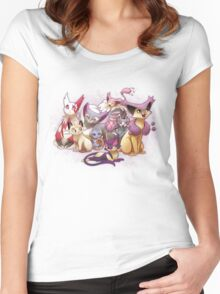 Pile of Cats Women's Fitted Scoop T-Shirt