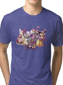 Pile of Cats Tri-blend T-Shirt