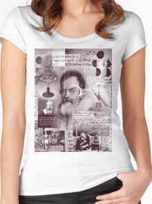 galileo  Women's Fitted Scoop T-Shirt