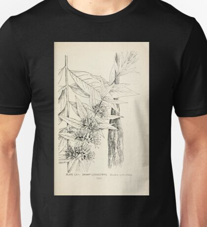 Southern wild flowers and trees together with shrubs vines Alice Lounsberry 1901 113 Swamp Loostrife Unisex T-Shirt