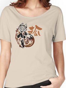 Fox tribal tattoo Women's Relaxed Fit T-Shirt