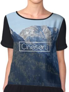 Cinesery x 2016 Spring Edition x Afternoon Chiffon Top