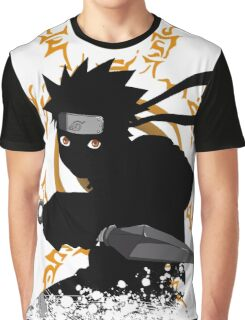 black ninja Graphic T-Shirt