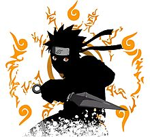 black ninja Photographic Print
