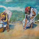 The beachcombers by christine purtle