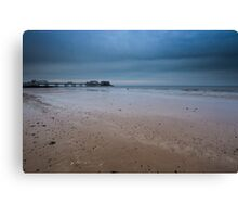 Cromer Pier in Muted Colours Canvas Print