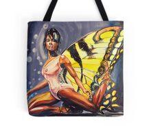 The African American Ballerina Tote Bag