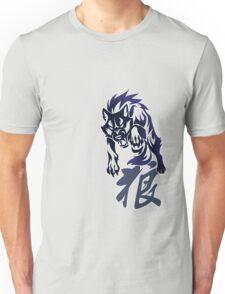 Wolf tribal tattoo Unisex T-Shirt