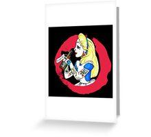 Punk Princesses #5 Greeting Card