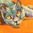 Aristo-cat by christine purtle