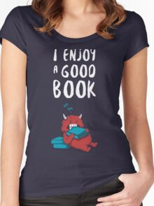I Enjoy a Good Book Women's Fitted Scoop T-Shirt
