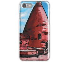 Red House Glass Cone iPhone Case/Skin