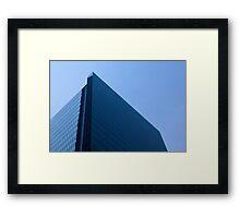 Modern Office Glass Building Framed Print