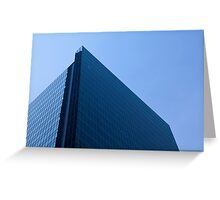 Modern Office Glass Building Greeting Card