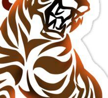 Tiger tribal tattoo Sticker