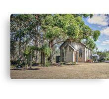 Uniting Church, Luddenham, NSW, Australia Canvas Print
