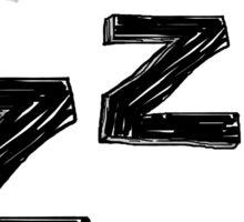 ZZZ Sleep Sticker