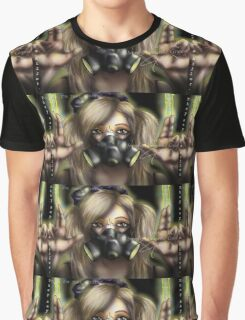 Cyber Goth Killer Graphic T-Shirt