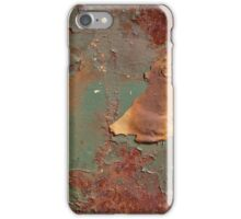 Corrosion Rust Metal Surface Peeling Color iPhone Case/Skin