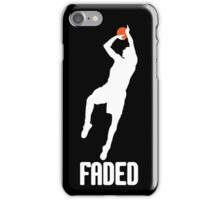 Faded - White iPhone Case/Skin
