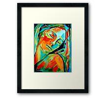 """Emotional healing"" Framed Print"