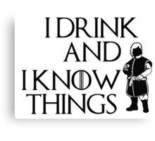 Tyrion Truth Canvas Print