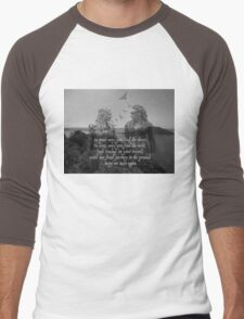 May We Meet Again Men's Baseball ¾ T-Shirt