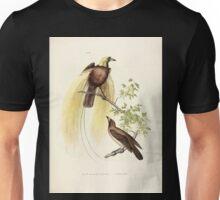 Bilder atlas zur Wissenschaftlich populären Naturgeschichte der Vögel in ihren sämmtlichen Hauptformen Leopold Joseph Fitzinger 1864 056 Unisex T-Shirt