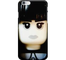 The Goth Girl is here iPhone Case/Skin
