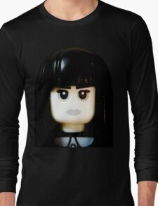 The Goth Girl is here Long Sleeve T-Shirt