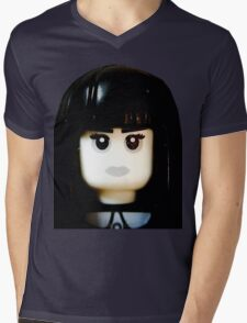 The Goth Girl is here Mens V-Neck T-Shirt