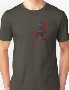 Cute anthro black wolf Unisex T-Shirt