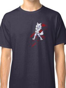 Cute anthro white wolf Classic T-Shirt