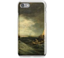 Augustus Wall Callcott - Sheerness and the Isle of Sheppey (after J.M.W. Turner), Tate Britain, iPhone Case/Skin