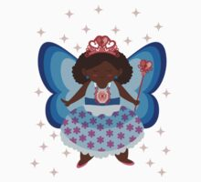 The Blue/Pink Fairy Baby Tee
