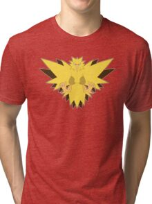 The Electric Pokemon Tri-blend T-Shirt