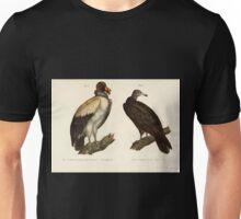 Bilder atlas zur Wissenschaftlich populären Naturgeschichte der Vögel in ihren sämmtlichen Hauptformen Leopold Joseph Fitzinger 1864 008 Unisex T-Shirt